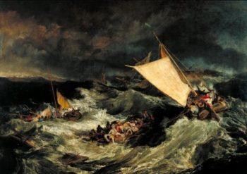 The Shipwreck | Joseph Mallord William Turner | oil painting