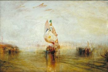 The Sun of Venice Going to Sea | Joseph Mallord William Turner | oil painting
