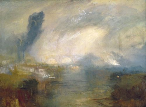 The Thames above Waterloo Bridge | Joseph Mallord William Turner | oil painting