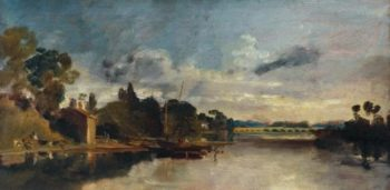The Thames near Walton Bridges | Joseph Mallord William Turner | oil painting