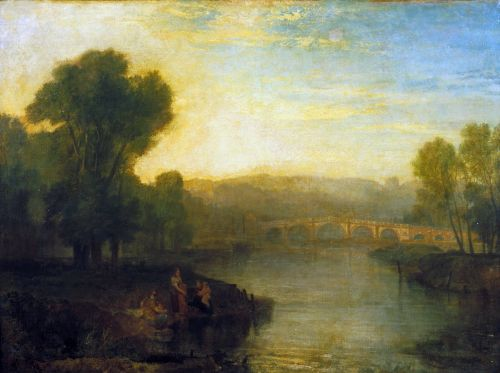View of Richmond Hill and Bridge | Joseph Mallord William Turner | oil painting