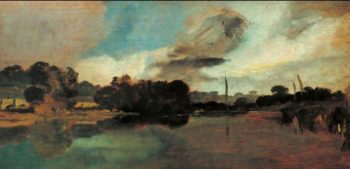 Walton Reach | Joseph Mallord William Turner | oil painting