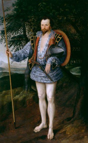 Portrait of Captain Thomas Lee | Marcus Gheeraerts II | oil painting