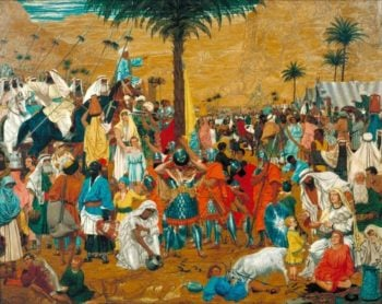 The Flight out of Egypt | Richard Dadd | oil painting