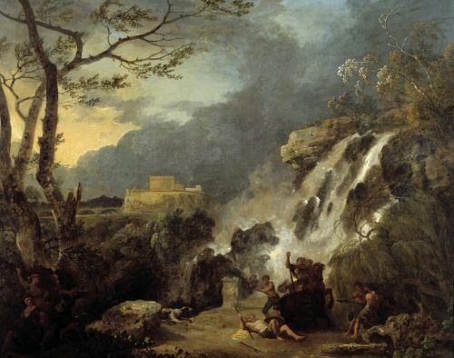 Meleager and Atalanta | Richard Wilson | oil painting