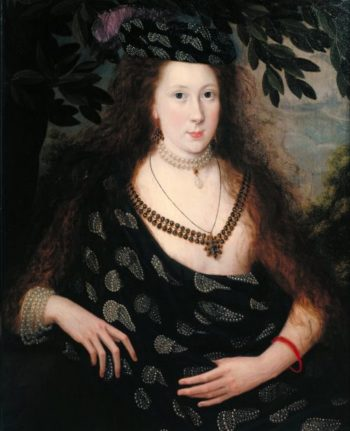 Lady Elizabeth Pope | Robert Peake | oil painting