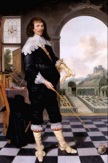 Portrait of William Style of Langley | School 17th century | oil painting