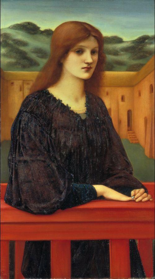 Vespertina Quies   Sir Edward Coley Burne Jones   oil painting