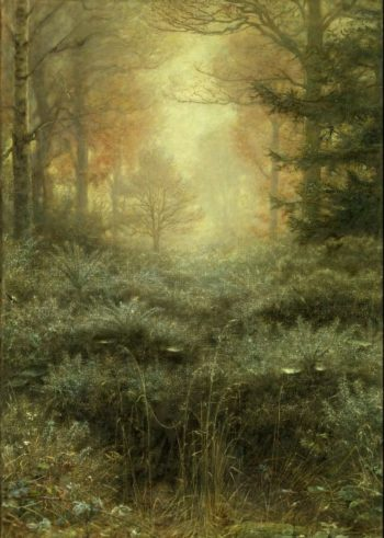 Dew Drenched Furze | Sir John Everett Millais | oil painting