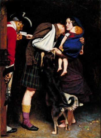 The Order of Release 1746 | Sir John Everett Millais | oil painting