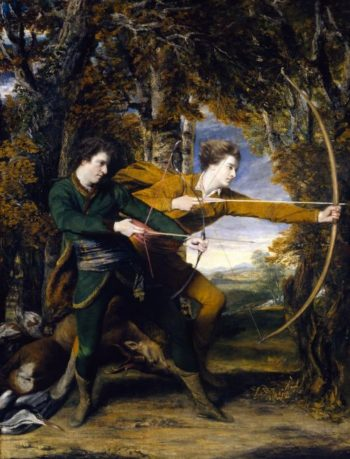 Colonel Acland and Lord Sydney The Archers | Sir Joshua Reynolds | oil painting