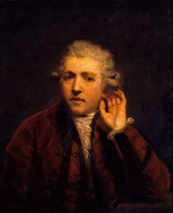 Self Portrait as a Deaf Man | Sir Joshua Reynolds | oil painting