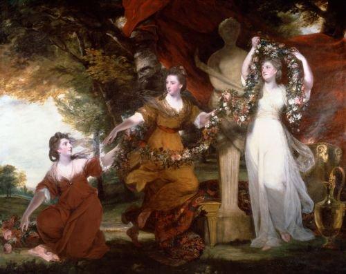 Three Ladies Adorning a Term of Hymen | Sir Joshua Reynolds | oil painting