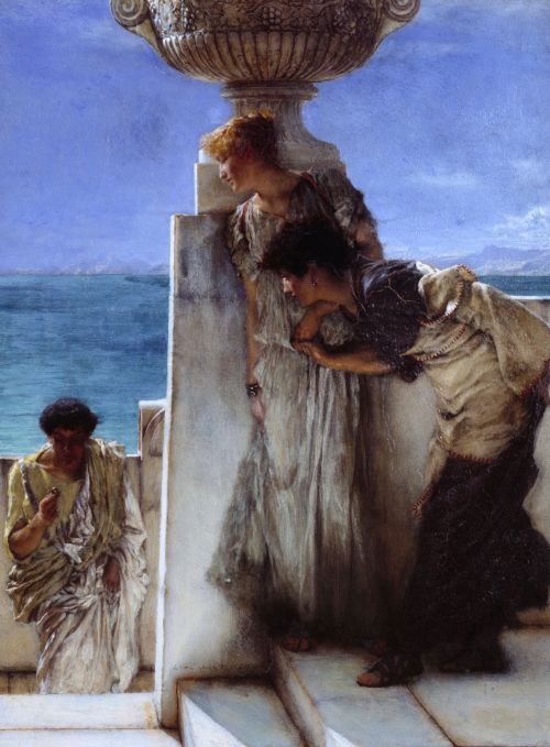 A Foregone Conclusion | Sir Lawrence Alma Tadema | oil painting