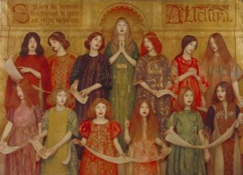 Alleluia | Thomas Cooper Gotch | oil painting