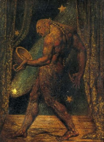 The Ghost of a Flea | William Blake | oil painting