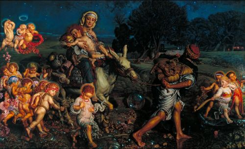 The Triumph of the Innocents | William Holman Hunt | oil painting