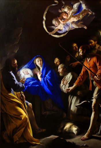Adoration of the Shepherds | Philippe de Champaigne | oil painting