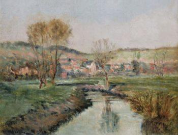Landscape at Ruisseau | Albert Lebourg | oil painting