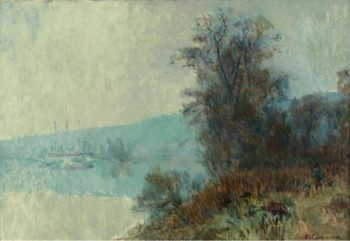 The Banks of the Seine | Albert Lebourg | oil painting