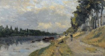 The Banks of the Seine at Puteaux | Albert Lebourg | oil painting
