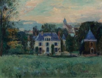The House of Paulin 1899 | Albert Lebourg | oil painting