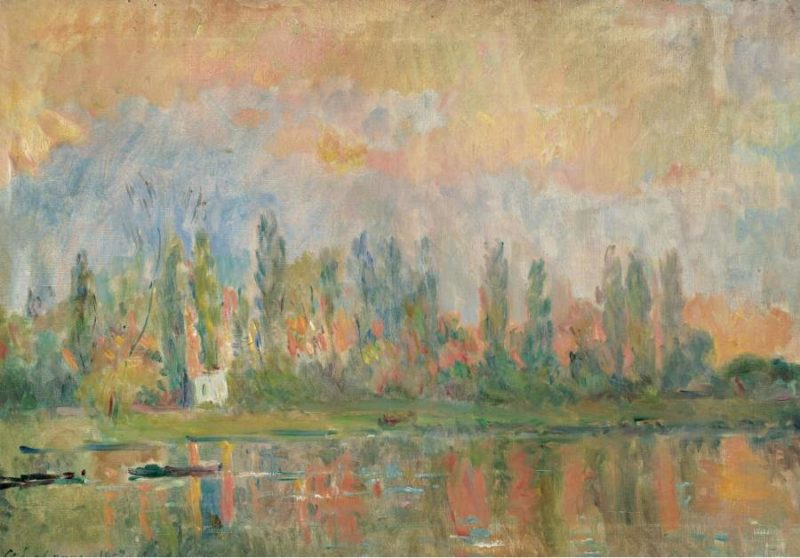 View of the Seine 1902   Albert Lebourg   oil painting