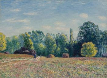 Edge of the Forest 1895 | Alfred Sisley | oil painting