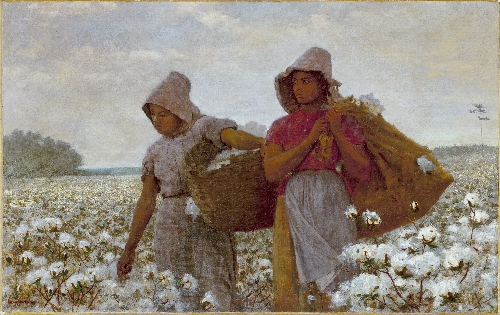 The Cotton Pickers | Winslow Homer | oil painting