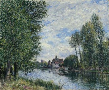 The Summer in Moret 1888 | Alfred Sisley | oil painting
