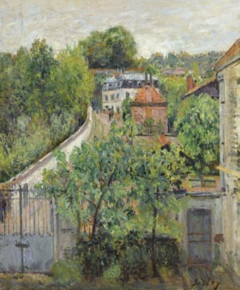View of Serves 1879 | Alfred Sisley | oil painting