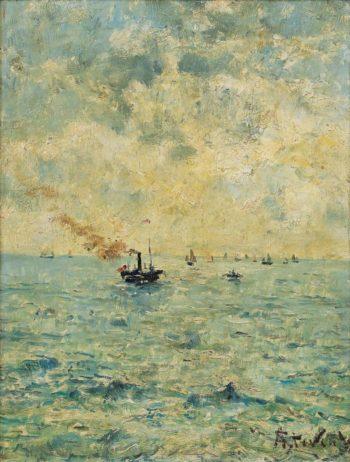 Marine | Alfred Stevens | oil painting