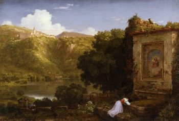 Il Penseroso | Thomas Cole | oil painting