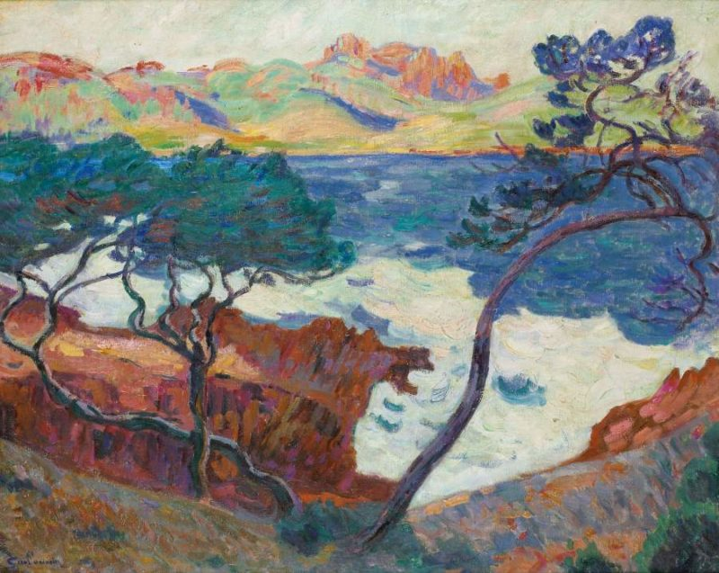 Agay 1899 | Armand Guillaumin | oil painting