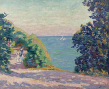August Evening at Saint Palais 1909 | Armand Guillaumin | oil painting