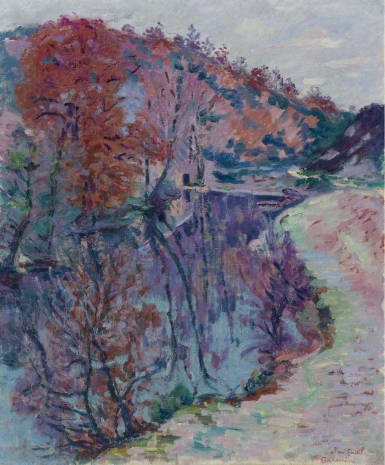 Banks of the Sedelle Crozant 1905 | Armand Guillaumin | oil painting