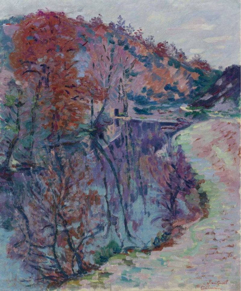 Banks of the Sedelle Crozant 1905   Armand Guillaumin   oil painting