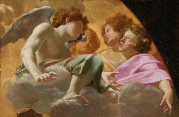 Model for Altarpiece in St. Peters | Simon Vouet | oil painting