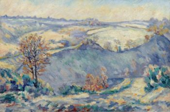 Crozant View to Charraud Bridge 1905 | Armand Guillaumin | oil painting