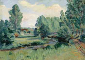 Jouy Ile de France 1900 | Armand Guillaumin | oil painting