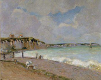 La Manche Landscape 1890 | Armand Guillaumin | oil painting