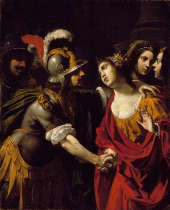 Dido and Aeneas | Rutilio Manetti | oil painting