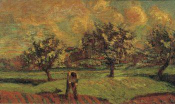 Landscape at Ile de France 1885 | Armand Guillaumin | oil painting
