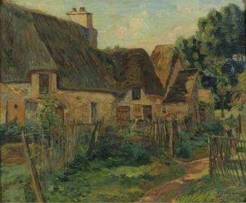 Landscape of Ile de France | Armand Guillaumin | oil painting