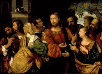 Christ and the Women of Canaan | Rocco Marconi | oil painting