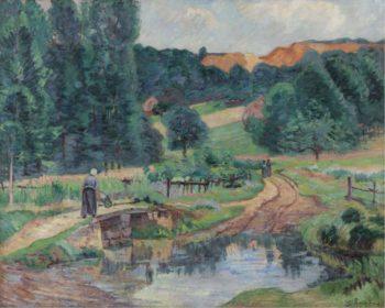 Landscape of Saint Cheron 1888 90 | Armand Guillaumin | oil painting