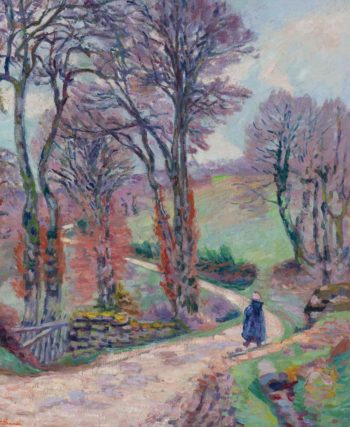 Landscape of the Creuse 1902 | Armand Guillaumin | oil painting