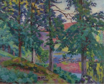 Landscape of the Creuse 1910 | Armand Guillaumin | oil painting