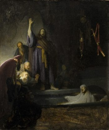 The Raising of Lazarus | Rembrandt Harmensz. van Rijn | oil painting