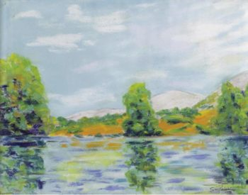 Landscape of the Creuse 1917   Armand Guillaumin   oil painting